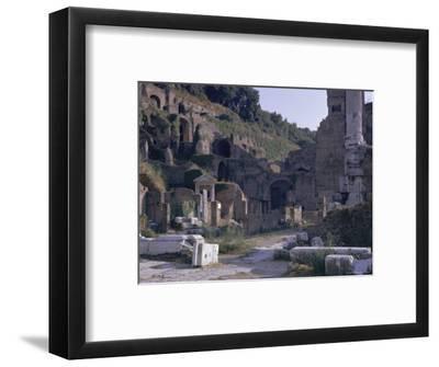 Ruins of Pompeii, Destroyed in Volcanic Eruption of Ad 79, Pompeii, Campania, Italy