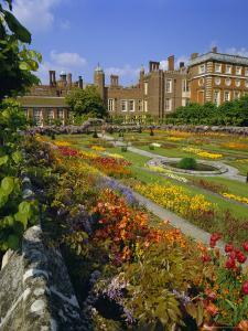 Sunken Gardens, the Origin of the English Nursery Rhyme 'Mary Mary Quite Contrary', London, England by Walter Rawlings