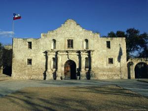 The Alamo, San Antonio, Texas, USA by Walter Rawlings