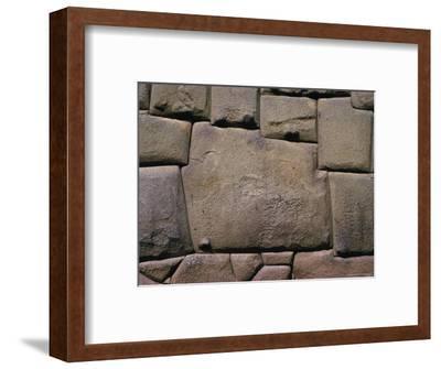 The Stone of Twelve Angles, the Inca Palace of Hatunrumiyoc, Cuzco, Peru