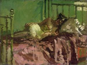 Reclining Nude by Walter Richard Sickert