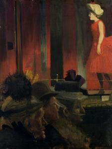 The Music Hall, 1889 by Walter Richard Sickert