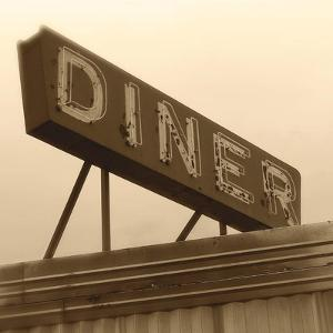 Diner Sign by Walter Robertson