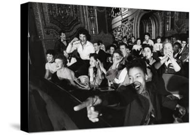 Audience Members Enjoying Alan Freed's Easter Show at Brooklyn Paramount Theater