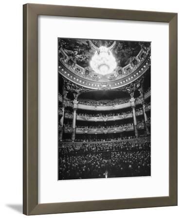 Auditorium of the Paris Opera House