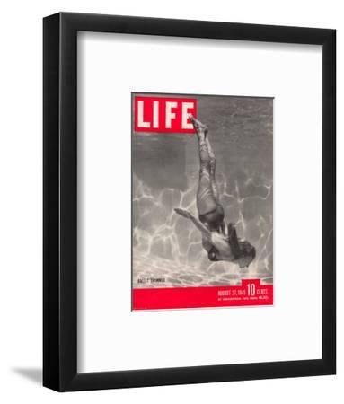 Ballet Swimmer Belita, August 27, 1945