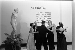 Couples Dancing Together at the Metropolitan Museum of Art Fashion Ball, NY, November 1960 by Walter Sanders