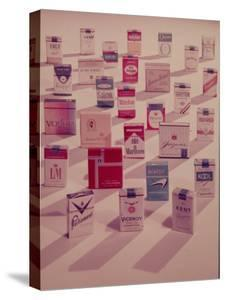 Filter Cigarettes by Walter Sanders