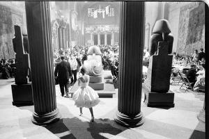 Guests at the Metropolitan Museum of Art Fashion Ball, New York, New York, November 1960 by Walter Sanders