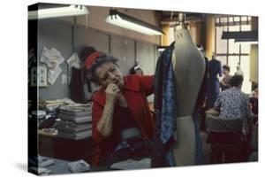 Senior Fashion Designer Pauline Fraccia, of R&K Originals, New York, New York, 1960 by Walter Sanders