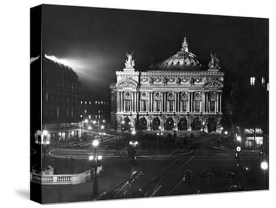 The Paris Opera House at Night