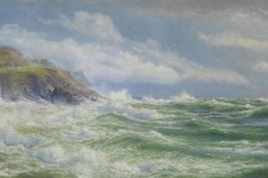 Oceans, Mists and Spray, c.1900 by Walter Shaw
