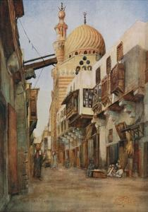 Souk Selal, the Armourers' Bazaar, Cairo by Walter Spencer-Stanhope Tyrwhitt