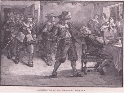 Assassination of Dr Dorislaus AD 1649