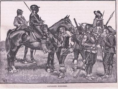 Cavalier Soldiers Ad 1645