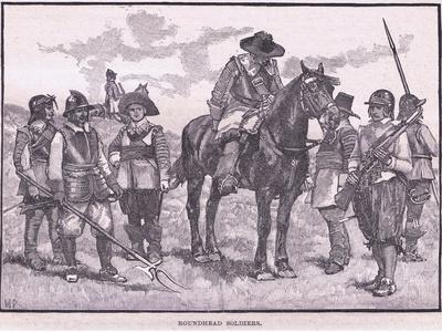 Roundhead Soldiers Ad 1645