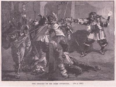 The Assault on Sir John Coventry