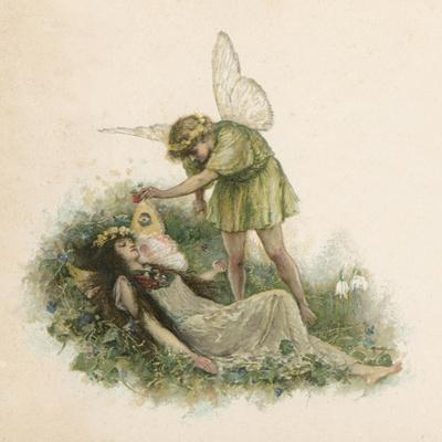 Titania and Oberon from Midsummer Night's Dream