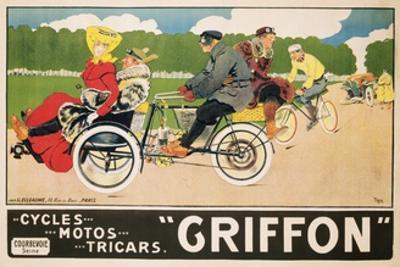 Griffon Poster by Walter Thor