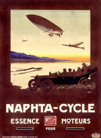 Naphta Cycle by Walter Thor