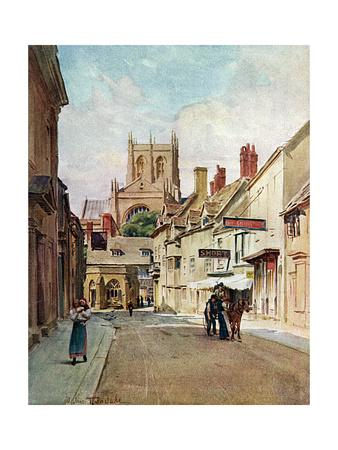 Sherborne, Dorset 1906