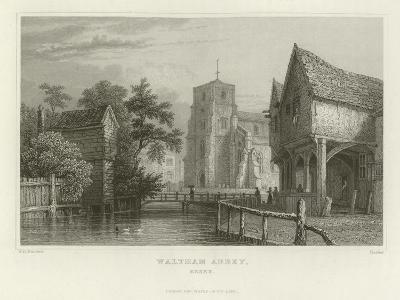 Waltham Abbey, Essex-William Henry Bartlett-Giclee Print