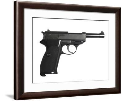 Walther P38 9mm Pistol-Stocktrek Images-Framed Photographic Print