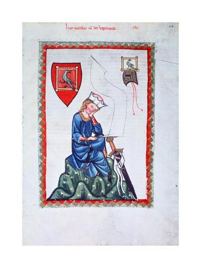 Walther Von Der Vogelweide, 1304-1340--Giclee Print