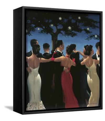 Waltzers-Jack Vettriano-Framed Canvas Print