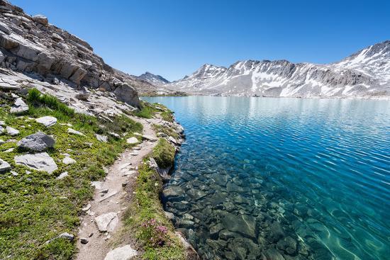 Wanda Lake Sierra Nevada Mountains California United States Of America North America Photographic Print Markus Thomenius Art Com