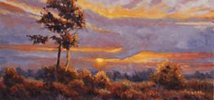 African Sunset by Wanda Mumm