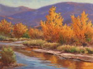 Autumn River by Wanda Mumm