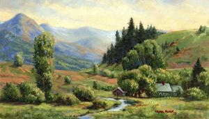 Indian Spring Ranch by Wanda Mumm