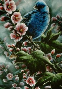 Indigo and Elderberries by Wanda Mumm