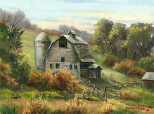 Purdy's Barn by Wanda Mumm