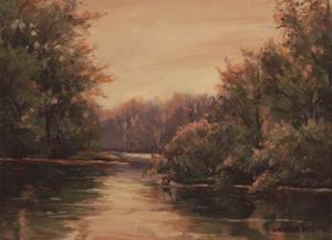 Sunrise Lake by Wanda Mumm