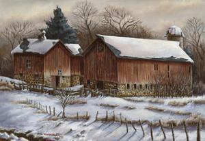 Untitled 1 - Barn by Wanda Mumm