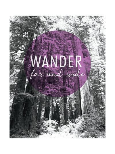 Wander Far and Wide-Laura Marshall-Art Print