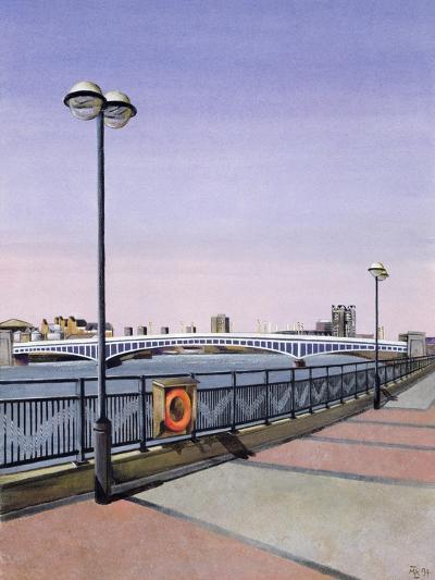 Wandsworth Bridge, 1994-Isabel Hutchison-Giclee Print