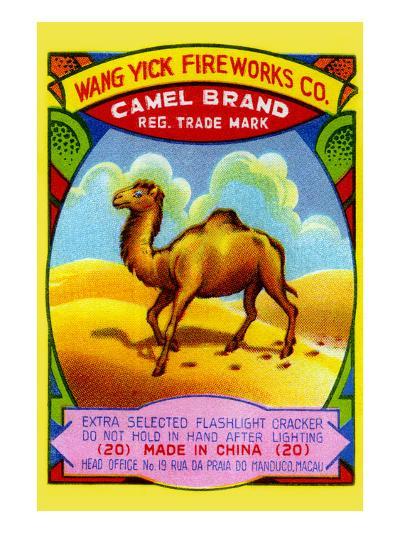 Wang Yick Fireworks Camel Brand--Art Print