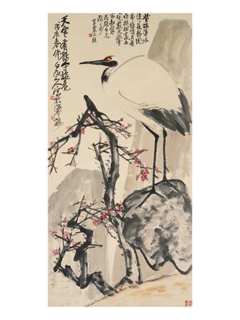 Crane and Plum Blossoms
