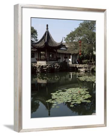 Wangshi Garden, Suzhou, China-G Richardson-Framed Photographic Print