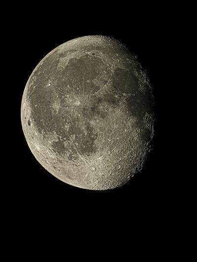 Waning Gibbous Moon-Eckhard Slawik-Photographic Print