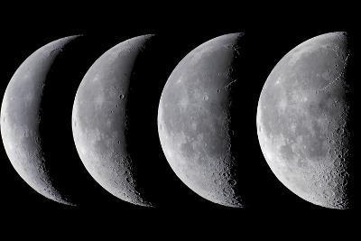 Waning Moon Series--Photographic Print