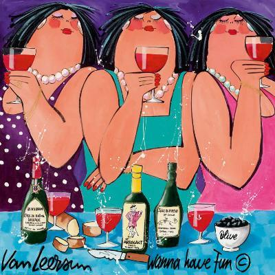 Wanna Have Fun II-El Van Leersum-Art Print
