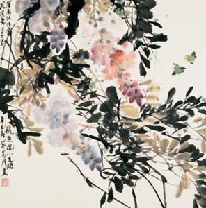 Visiting Blossoms by Wanqi Zhang