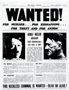 Wanted! for Murder, for Kidnapping, for Theft and for Arson