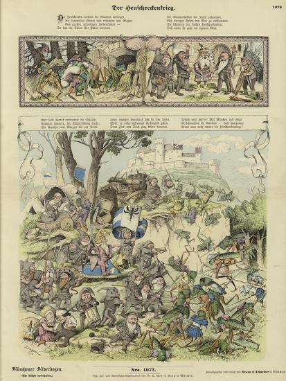 War Between Gnomes and Locusts--Giclee Print