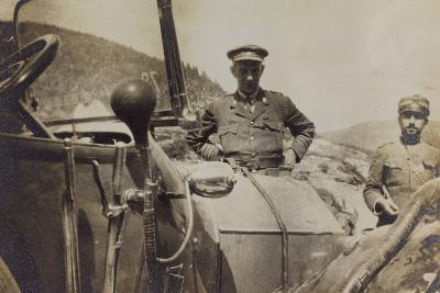War Campaign 1917-1920: Asiago Plateau in June 1918, Major F. W. Sargent--Photographic Print