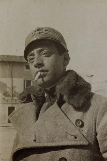 War Campaign 1917-1920: Portrait of a Soldier--Photographic Print